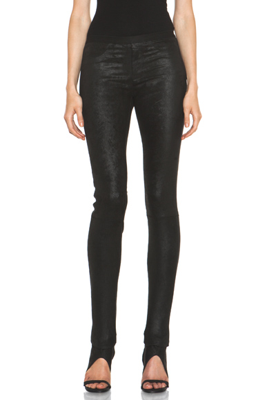 Patina Stretch Leather Legging