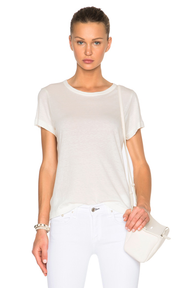 Cashmere Jersey Tee