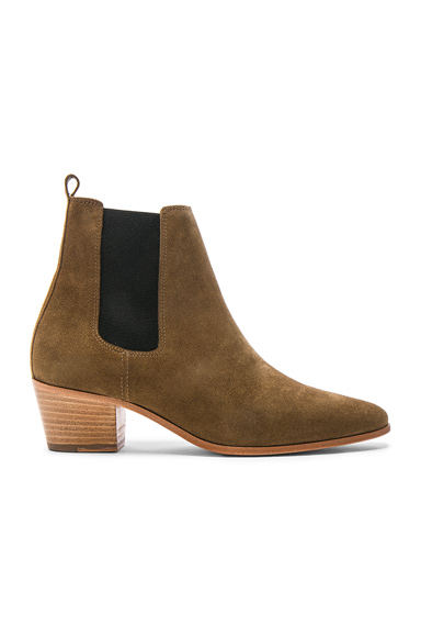 Suede Yvette Boots