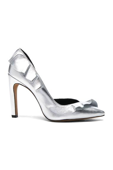 Leather Escavoly Heels