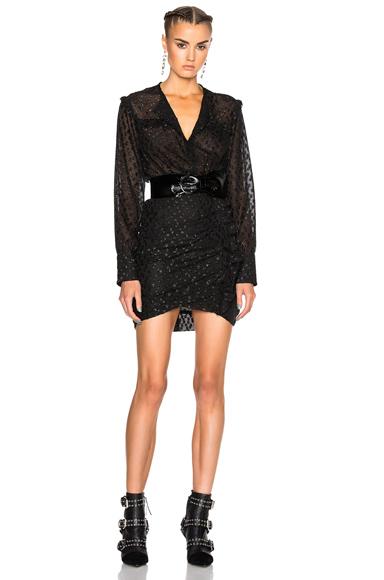 Adriana Lurex Dot Dress