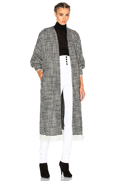 Iban Tweedy Coat