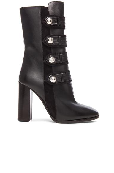 Arnie Brandebourg Leather Boots