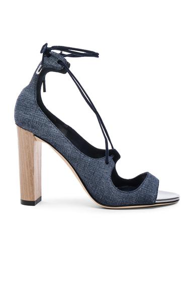 Leather Vernie Heels