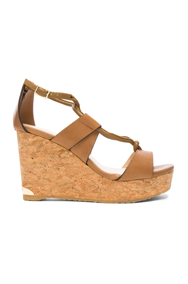 Leather Nelson Wedges