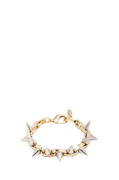 Double Row Spike Bracelet