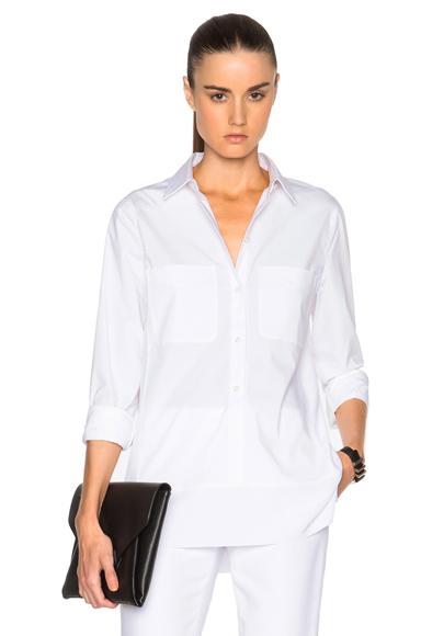 Cotton & Sheer Silk Blouse