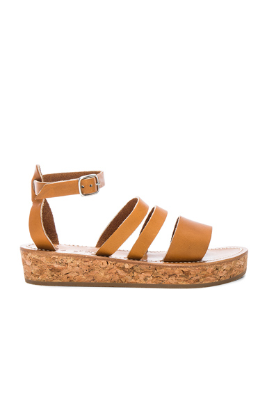 Leather Clairval Sandals
