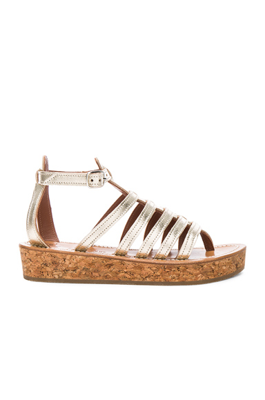 Leather Vezelay Sandals