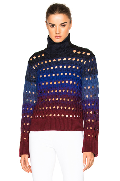 Tie Dye Hemstitch Sweater