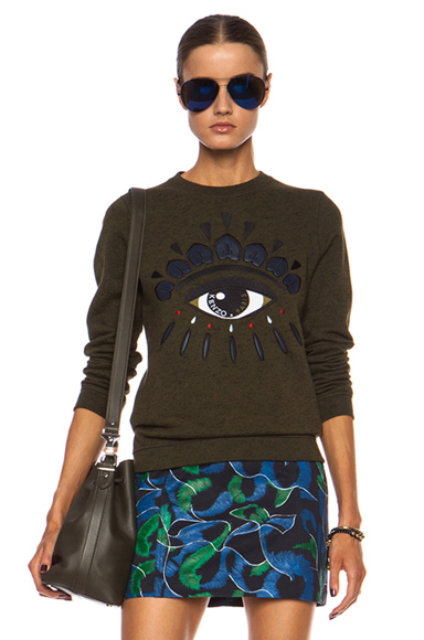 Eye Cotton Sweatshirt