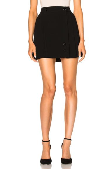 Crepe Back Satin Skirt