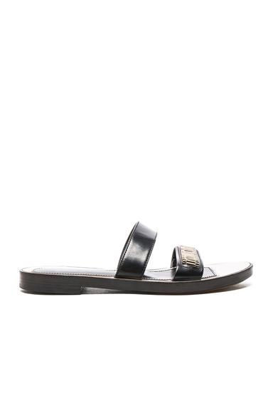 Flat Chain Sandals