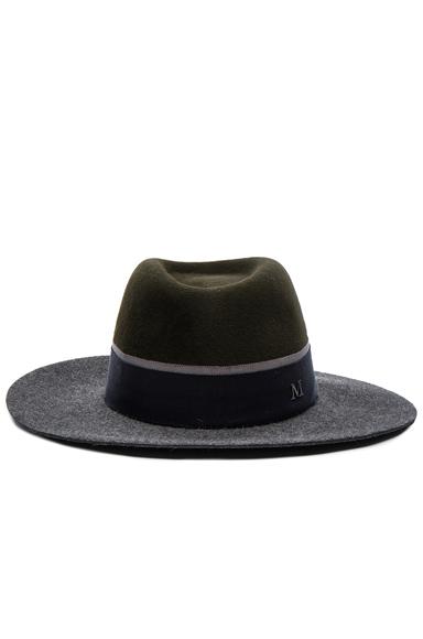 Double Rabbit Felt Charles Hat