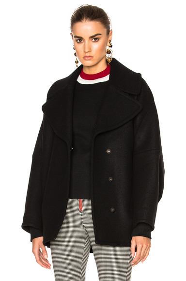 Double Wool Cover Jacket