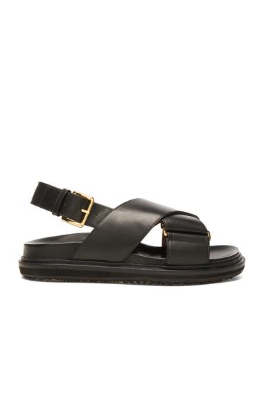 Leather Fussbett Sandals