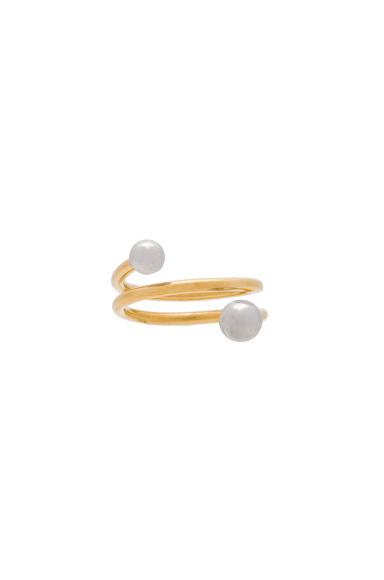 14 Karat Body Spring Ring