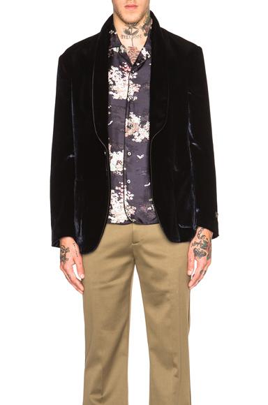 Hammered Velvet Jacket
