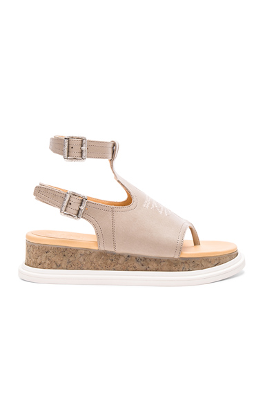 Buckled Sandal