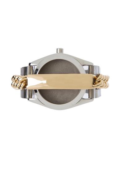 Watch with Nameplate Bracelet