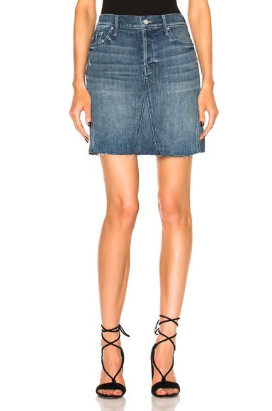 Four Points Mini Fray Skirt