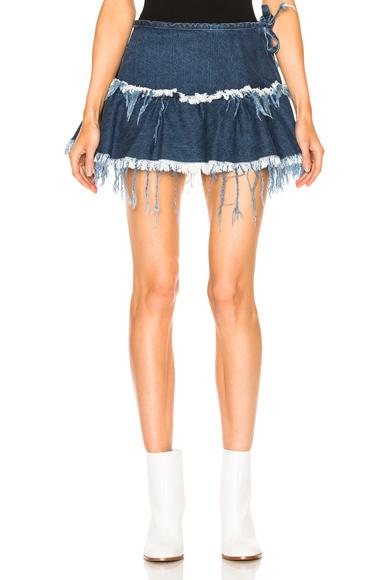 Mini Frill Skirt