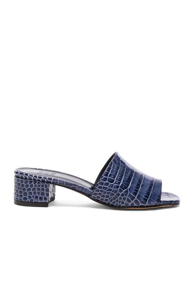 Leather Sophie Slide Heels