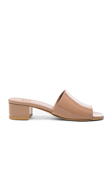 Patent Leather Sophie Slide Heels