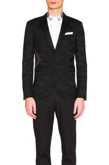 Modernist Tuxedo Jacket