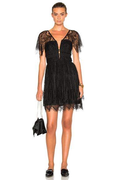 Eyelash Mini Dress