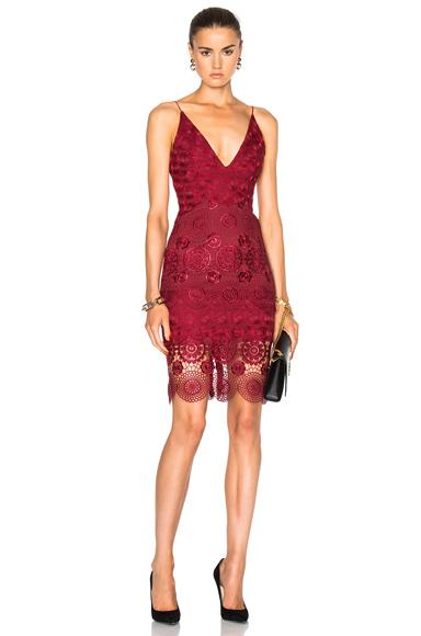 Mix Lace Dress