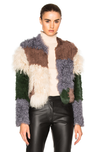 Mixed Fur Jacket