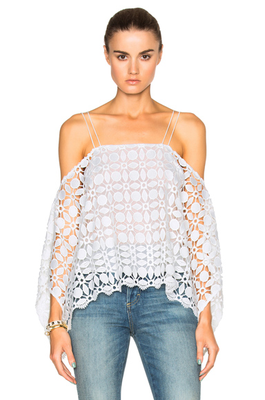 Mosaic Lace Square Top
