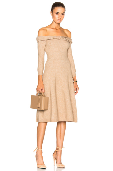 Bateau Twist Neck Dress