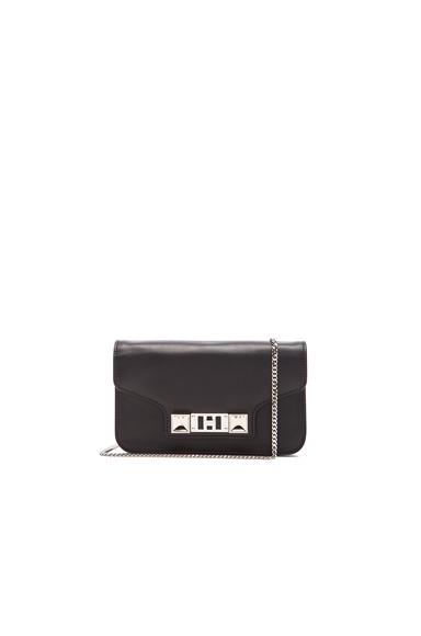 PS11 Smooth Calf Leather Chain Wallet