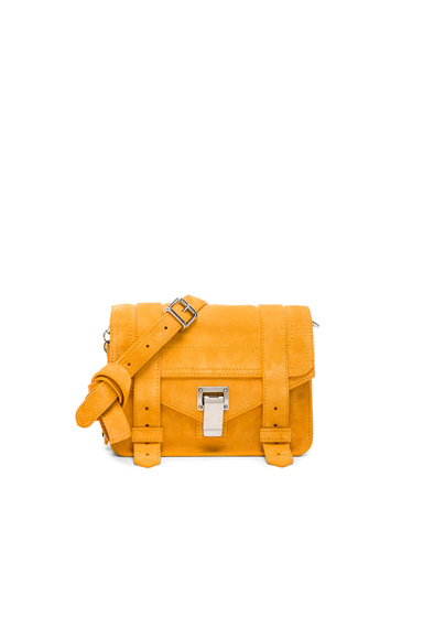 PS1 Suede Mini Crossbody
