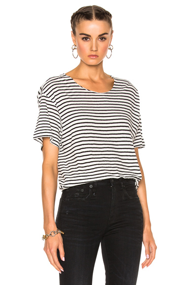 Striped Rosie Tee