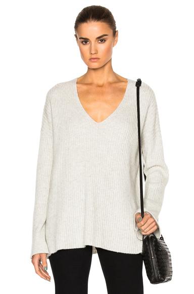 Phyllis Cashmere V Neck Sweater