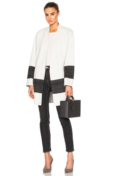 Elgin Reversible Blanket Coat