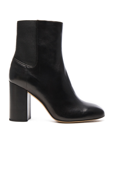 Leather Agnes Booties