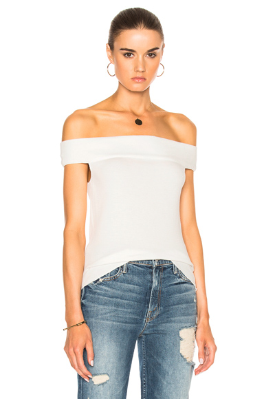 Thermal Off the Shoulder Top