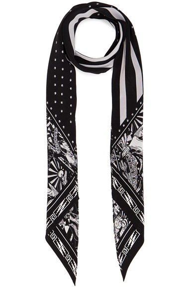 for FWRD Desert Paisley Classic Skinny Scarf