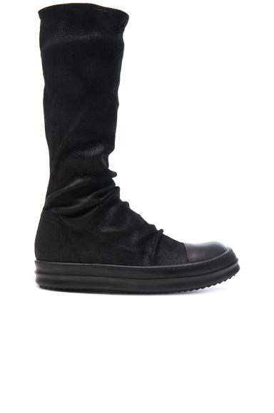 Leather Sock Sneaks