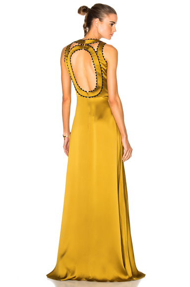 Silk Seersucker Okin Dress
