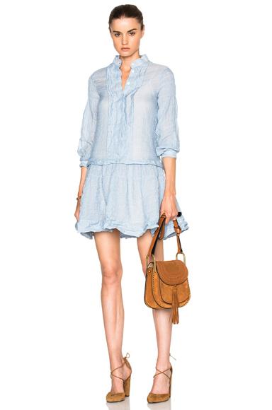 Cotton Gauze Mini Dress