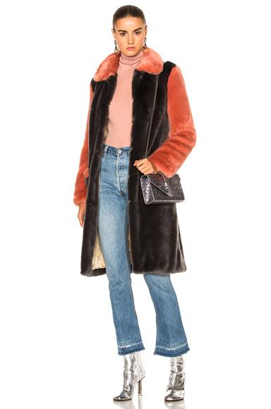 Faux Fur Simon Coat