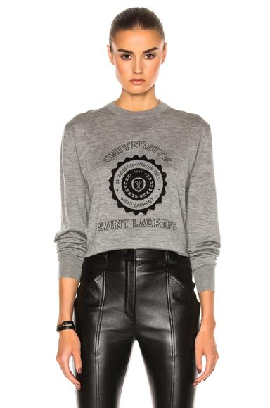 University Cashmere Sweatshirt