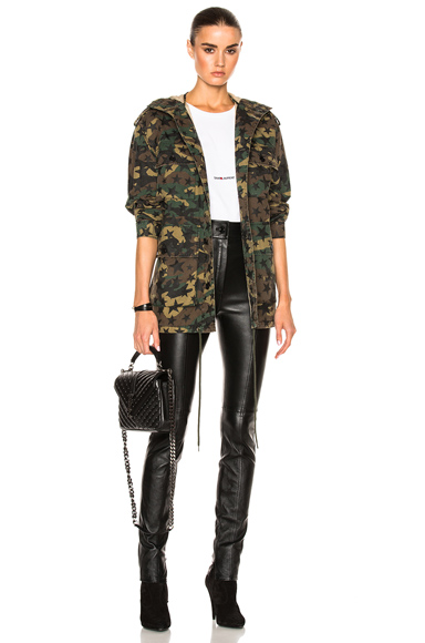 Army Camouflage Jacket with Stars