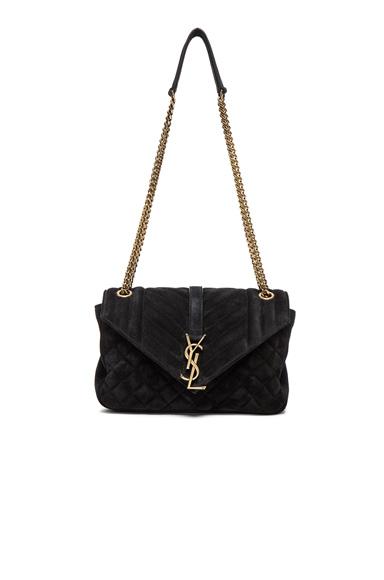 Medium Suede Chain Bag