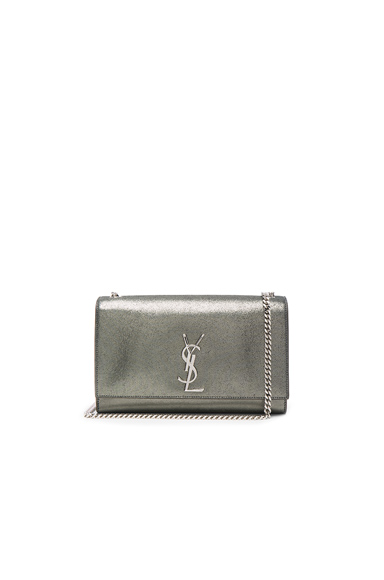 Glitter Monogramme Kate Clutch
